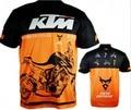 Male men KTM shirt motorcycle biker quick dry shirt t-shirt moto jersey shirt