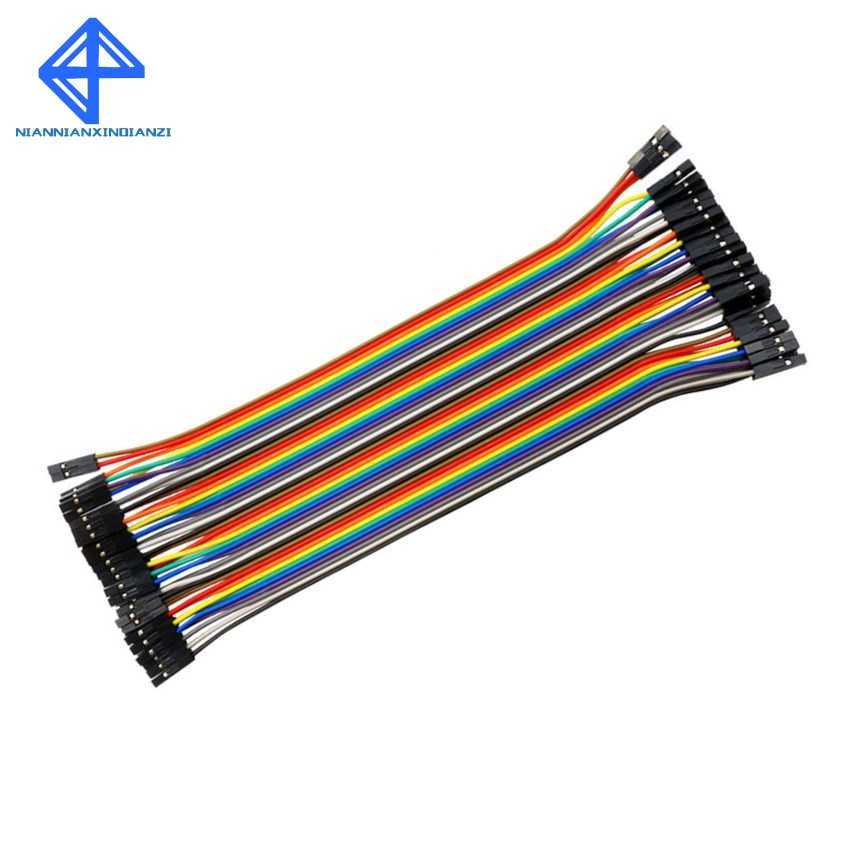 40Pin 20CM 2.54MM Row Female to Female(F-F) Dupont Cable Breadboard Jumper Wire for Arduino