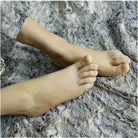 2015 Лидер продаж силиконовые модели стопы женские Средства ухода за кожей стоп ног стринги Стиль Босоножки манекен для обуви ноги Дисплей
