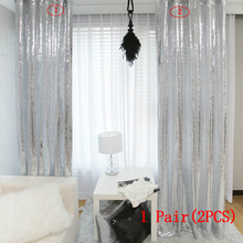 Silver Sequin Curtain-250cm Height Shimmer Sequin Fabric Photography Backdrop Luxury Curtains for Wedding Bedroom WindowCurtain