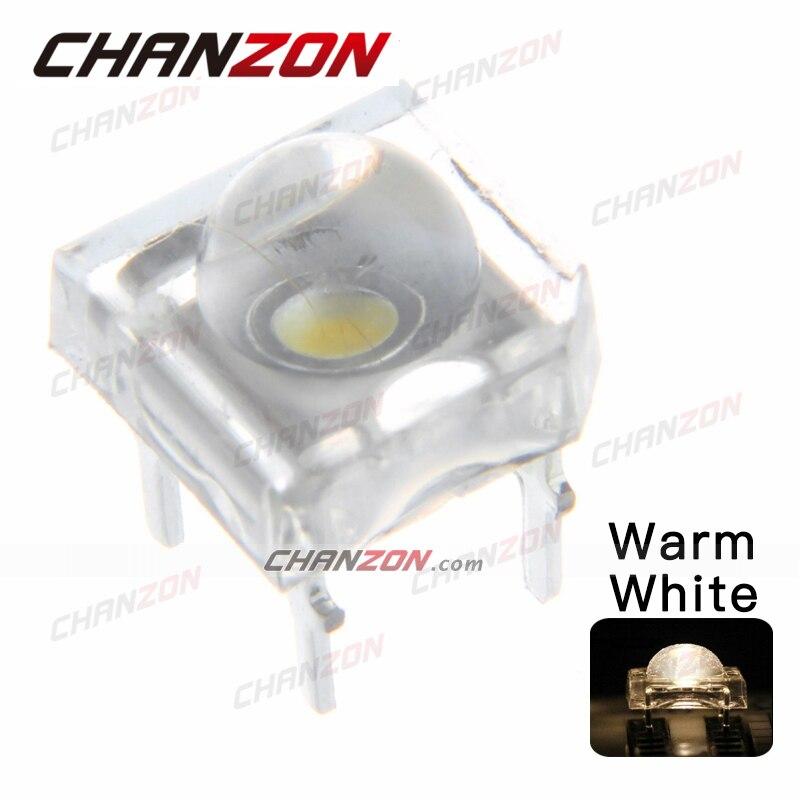 LED  Piranha SuperFlux blanc chaud warm white 5mm
