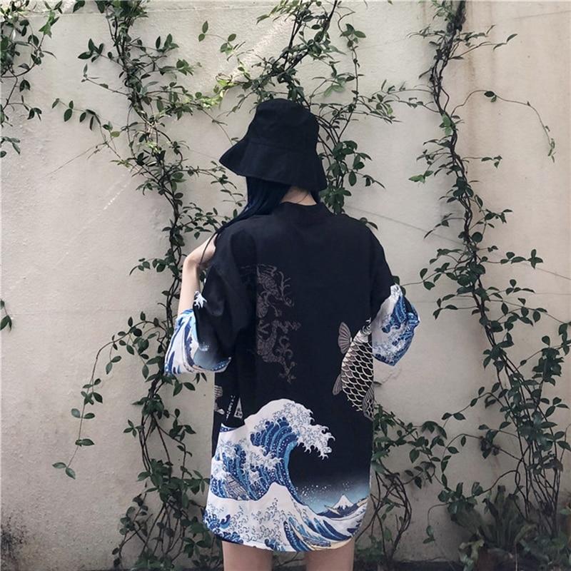 Japanese yukata kimono woman…