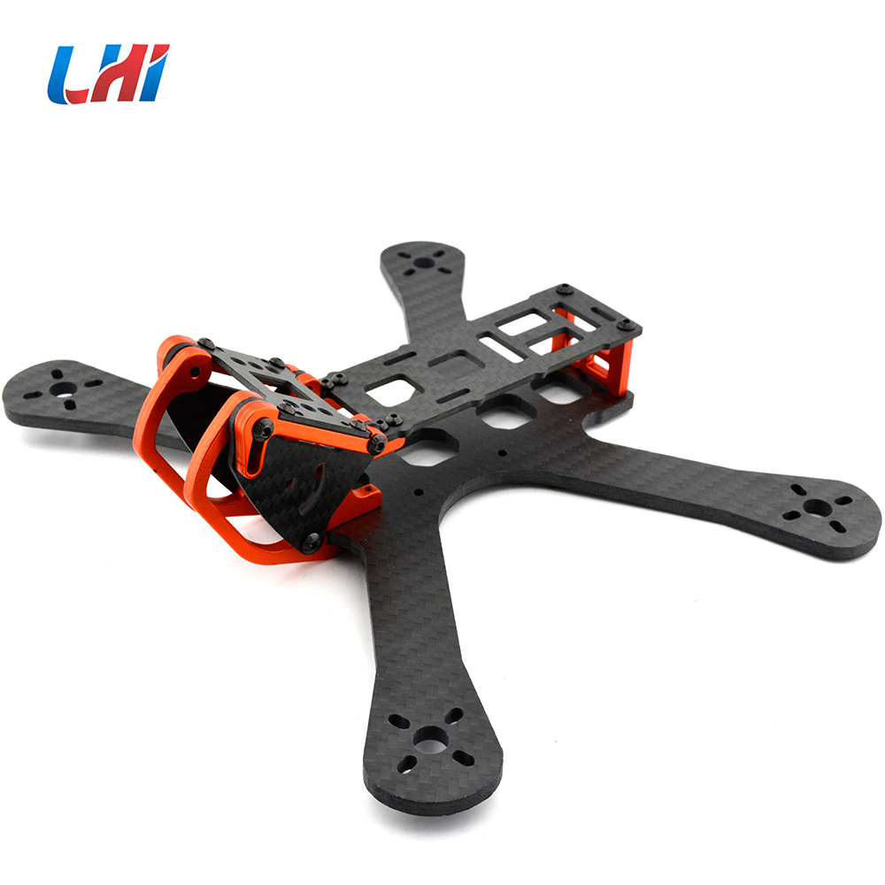 PUDA Chameleon FPV 5 QAV-X QAV-R 220mm Freestyle Quad Unibody carbon fiber Frame FPV Racing RC Drones For Armattan Chameleon mini qav r 220 pure carbon fiber board 220mm 220 quadcopter frame kit 4mm arm for qav r 220 racing drone diy rc through fpv