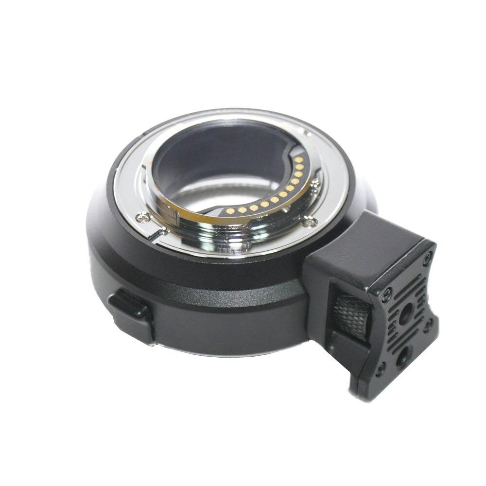 Jintu métal Auto Focus AF adaptateur de montage d'objectif EF-M4/3 pour Canon EOS EF/EF-S à Micro M4/3 Panasonic Olympus caméra prix usine - 6