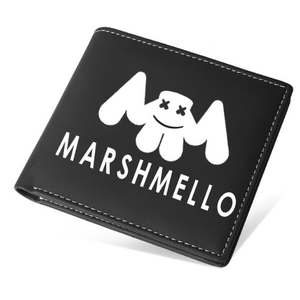 DJ Marshmello Mask Full Face Pencil case pen bag Student  wallet Thickening stationery great gift birthday gift