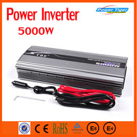 EXW Price 5000W Car inverter Peak Power 10000W DC 12V TO AC 220V Car Power Inverter Adapter Modified sine wave