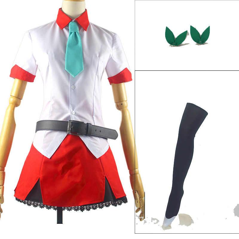 Горячая аниме Netoge no Yome wa Onnanoko ja Nai to Omotta? Костюм для костюмированной вечеринки Akane