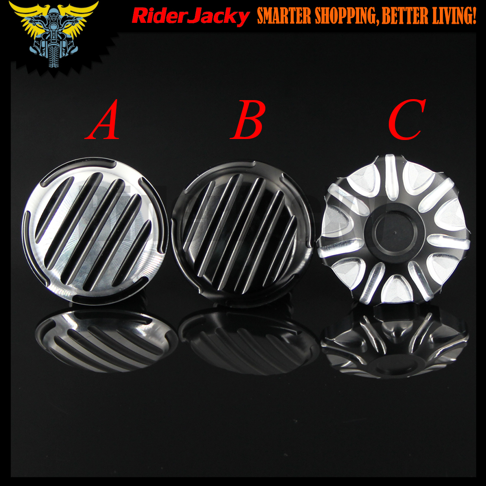 2017 NEW For Harley Sportster XL 883 1200 48 (1996-2014)Softail Touring Dyna CNC Aluminum Motorcycle Fuel Gas Oil Tank Cap Cover chrome black skull skeleton mirrors for harley dyna softail sportster touring