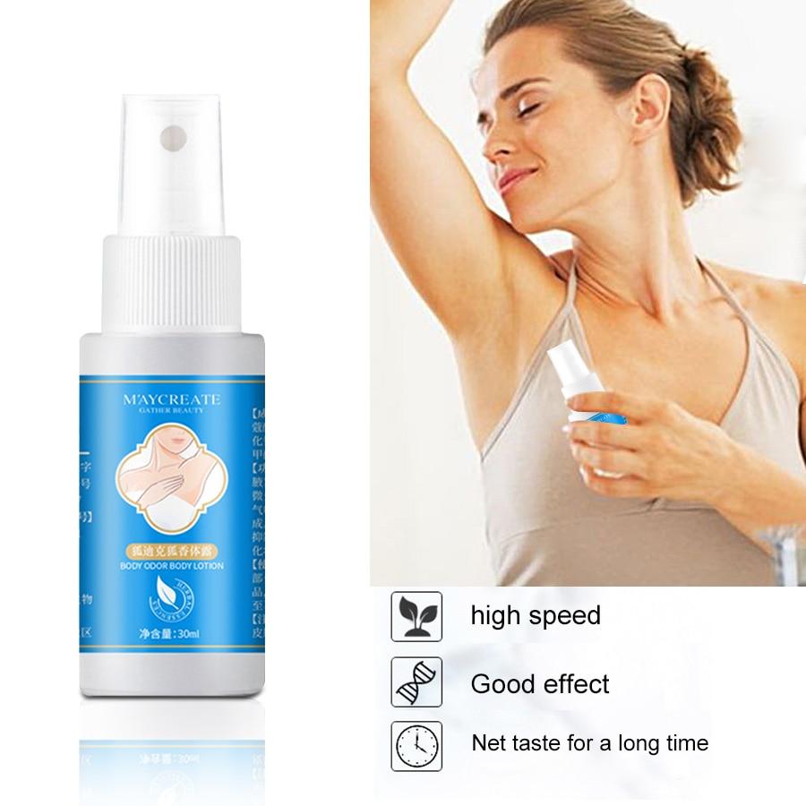Brand New 30ml Antiperspirant Cleaner Deodorant Armpit Spray Body Underarm Odor Remover Antiperspirant For Men And Women