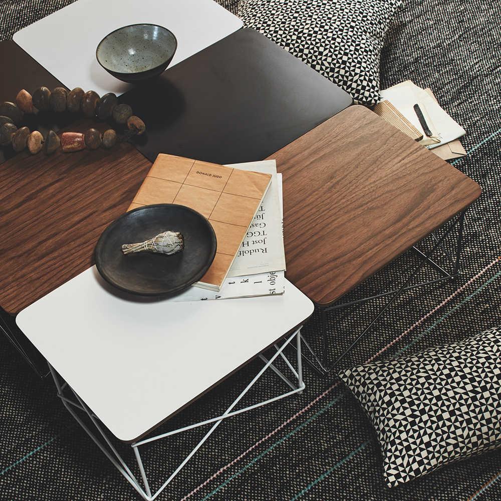 Hot vendas mesa de Chá Base de Arame simples LTR mesa final Moderno Pequena mesa de café para sala de estar sofá mesa lateral