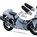 Alta calidad 1 Par de Motos pedal De Aluminio Para Suzuki GSX1300R Hayabusa GSX1300 1999-2012 B-king Frente reposapiés