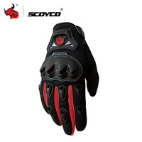 SCOYCO Motorcycle Gloves Full Finger Motorcycle Riding Gloves Men Moto Racing Gloves Moto Guantes Motocicleta Luvas