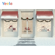 Yeele Wallpaper Fallen Snow Cake House Room Decor Photography Backdrops Personalized Photographic Backgrounds For Photo Studio