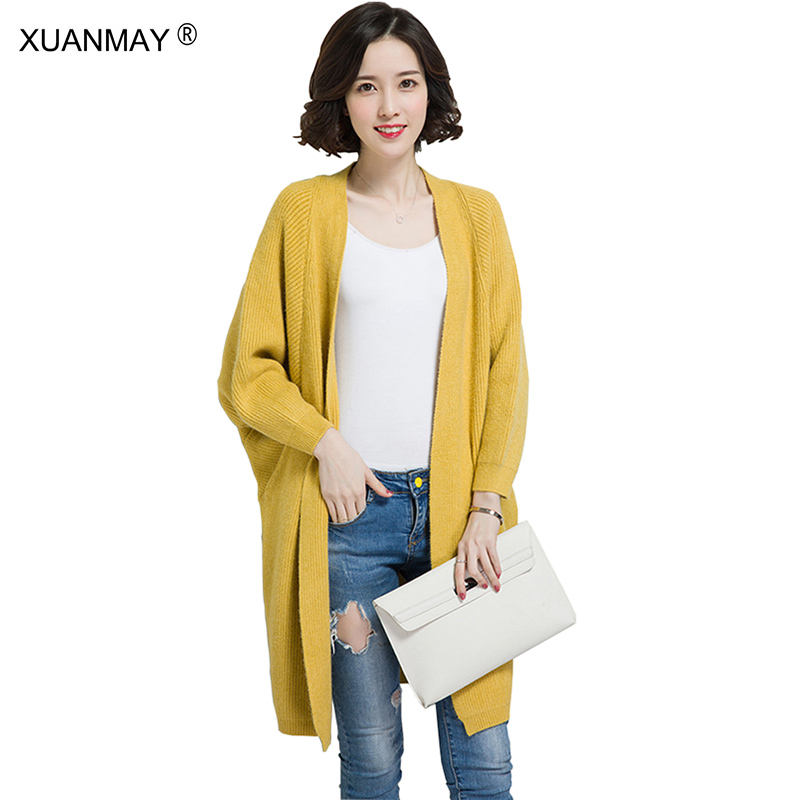 Fashion women Fall Thick Cardigan sweater coat 2017 new style lady ...