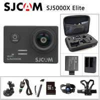 ¡Envío Gratis! Original SJCAM SJ5000X Elite WiFi 4K 24fps 2K 30fps Gyro cámara de acción deportiva