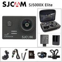 Envío libre!! Original SJCAM SJ5000X Elite WiFi 4 K 24fps 2 K 30fps Gyro Cámara de Deportes de Acción