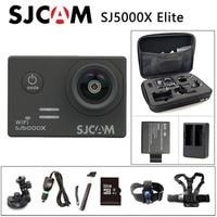 Free Shipping Original SJCAM SJ5000X WIFI 2K 30fps Gyro Sport Cam Car Charger Holder Extra 1pcs