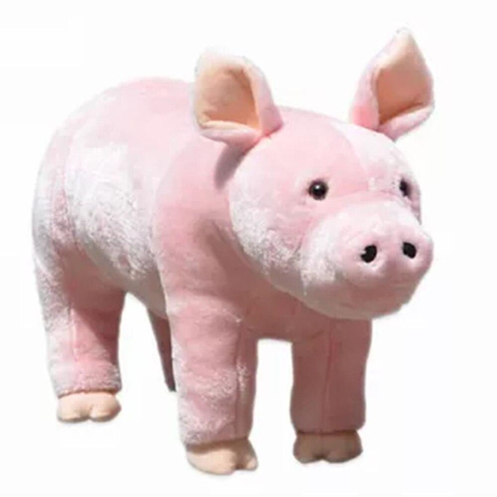Fancytrader кататься на свиньи плюшевые игрушки эмуляция свиньи животные Дети кукла может нагрузить 50 кг на спине