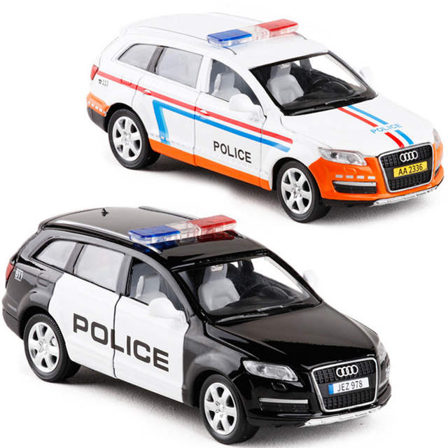 US $15 23 30% OFF|1:32 Audi Q7 Alloy Model Sound and Light Pull Back Toy  Car-in Diecasts & Toy Vehicles from Toys & Hobbies on Aliexpress com |