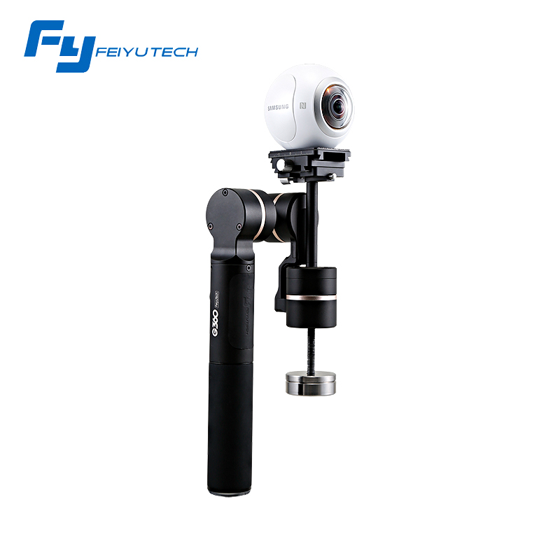FeiyuTech G360 Handheld Panoramic Camera Gimbal 360 limitless panning axis one-press panorama vast camera adaptability yuneec q500 typhoon quadcopter handheld cgo steadygrip gimbal black