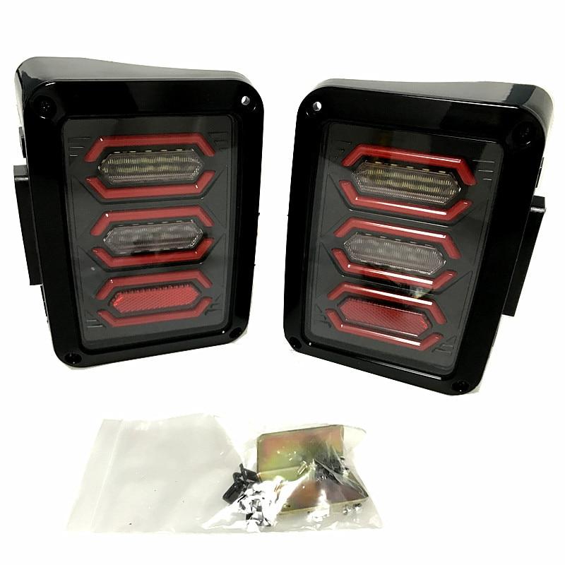 led tail lights for jeep wrangler tailights reverse light real back rh aliexpress com