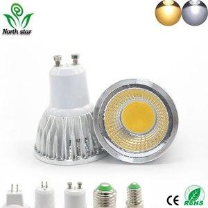 Image 2 - Super Bright GU10 Bulbs Light Dimmable Led Warm/White 85 265V 7W 10W 15W LED GU10 COB LED lamp light GU 10 led Spotlight