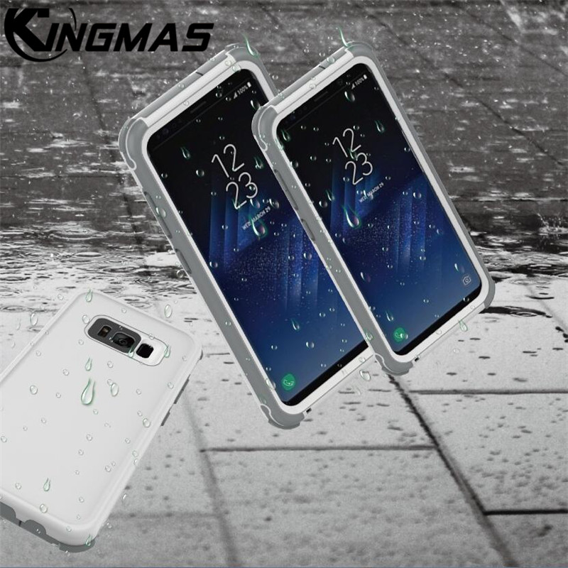 Waterproof Case Cover for Samsung S8 S8 Plus Outdoor Summer Swimming Shockproof Case For Apple iPhone 6S 7 8 plus X Diving case