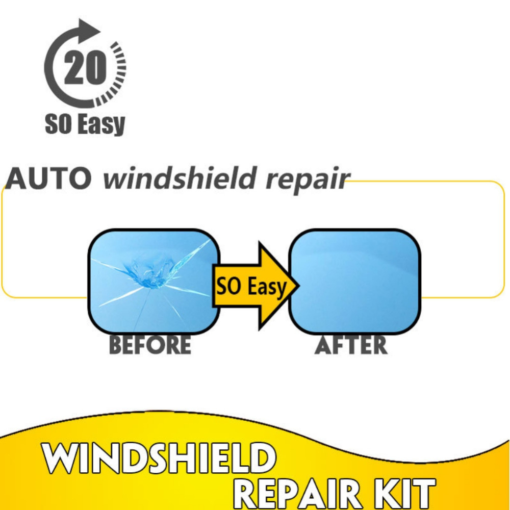 Windshield Repair Kits Car Window Repair Tools Windscreen Glass Scratch Crack Restore Window Screen Polishing Car styling in Window Repair from Automobiles Motorcycles