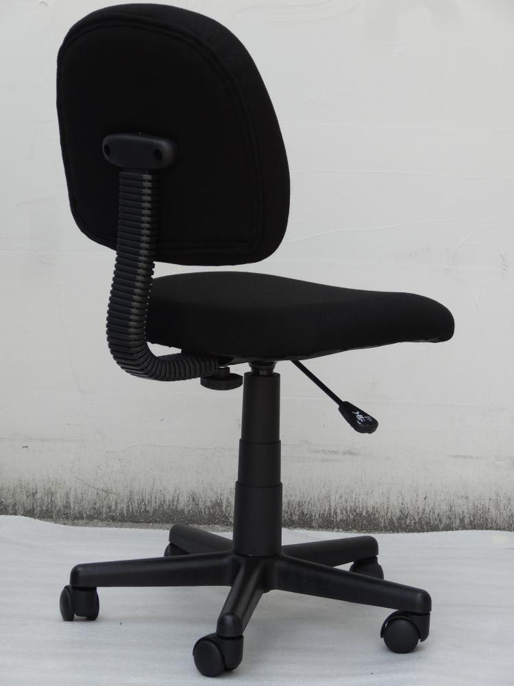 Task Chair Without Arms Stores Near Me Low Back Posture Delux Fabric Office Furniture Computer Desk 360 Degree Swivel Work Chairs Modern In From