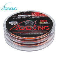 Bobing 3Plates Integrated 300M Polyethylene Fishing Lines Set Braided Fishing Line 4 Strands Fish Wire Long