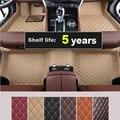 Alfombrillas coche pie alfombras paso esteras para LEXUS RX350 RX400h 2006.2007.2008. alta calidad a estrenar bordado + cuero + XPE Mats