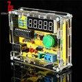 DIY наборы 1 Гц-50 МГц кристалл осциллятор тестер счетчик частоты Счетчик + чехол новый