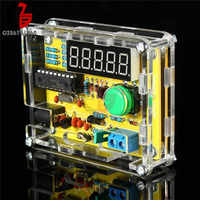 Kits de bricolaje de 1Hz-50MHz, probador de oscilador de cristal, contador de frecuencia y funda, nuevo