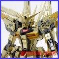 FÃS MODELO Dragão Momoko Gundam Modelo MG 1/100 Akatsuki Armas Duplas 2 Mochila Banhado A Ouro Figura de Ação Montar Brinquedos de Presente
