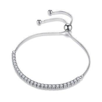 Women Link Tennis Bracelet Jewelry 925 Silver Jewelry