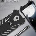 R-sólo batman caja del teléfono para el caso meizu mx6 pro 6 ultra-delgada de metal de aluminio caja del filtro del teléfono cubierta para meizu mx6
