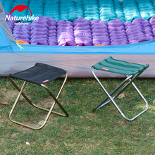 Naturehike Stool Folding Chair Outdoor Aluminium Alloy Fishing Chair Portable Hiking outdoor backrest Ultralight Barbecue Stool