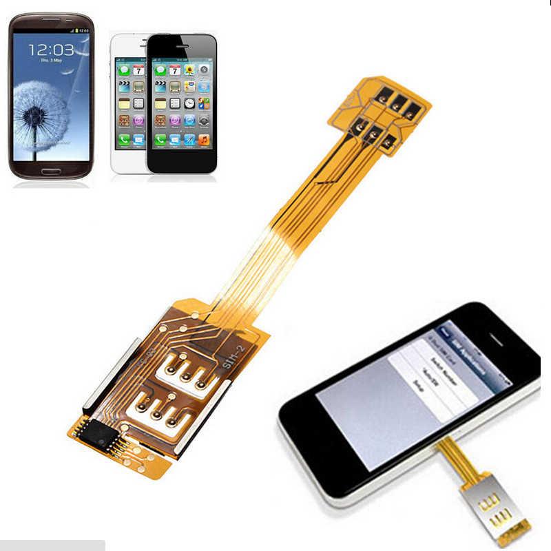 Telephone Pratique Double Carte Sim Adaptateur Extension Sim Convertisseur 4g Morecard Pour Samsung Galaxy S3 S4 S5 Note 2 3 4 Pour Iphone 4 S 4 Aliexpress