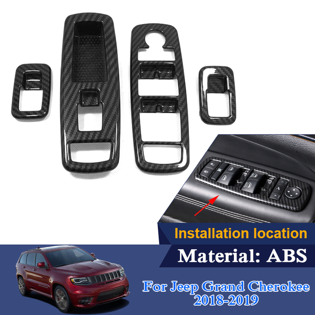 Car Styling ABS For Jeep Grand Cherokee 2018 2019 Interior