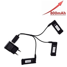 3.7V 800mAH Battery Charger Units for E58 JY019 S168 RC Quadcopter Spare Parts 3.7v RC Drone Lipo Battery цены