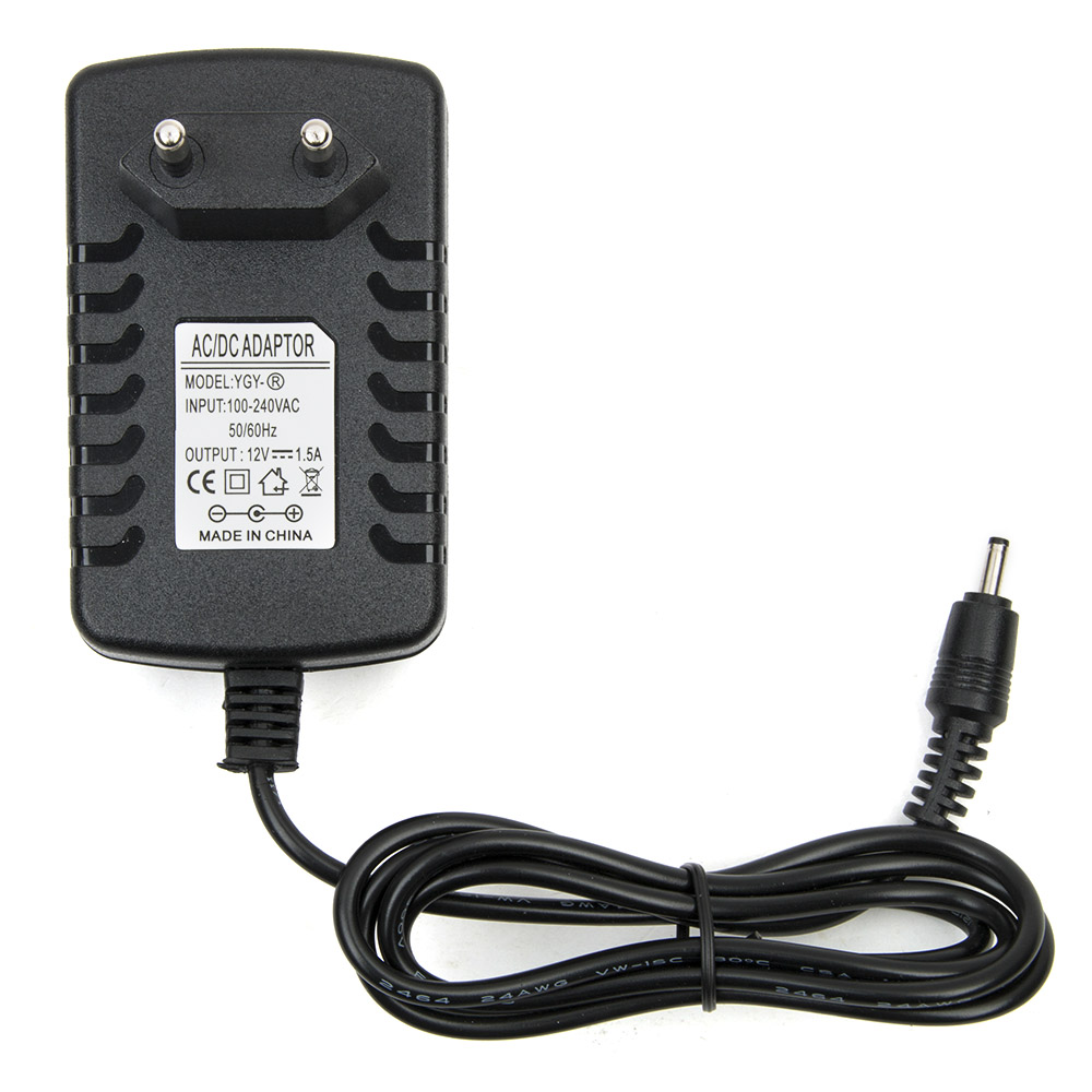 EU Plug Tablet Charger 12V 1.5A Wall Charger AC Travel Home Wall Charger Power Adapter For Acer Iconia Tab A500 A100 10 1 tablet cable charger for acer iconia tab a510 a511 a700 a701 12v home charger power cord wall charger travel plug adapter