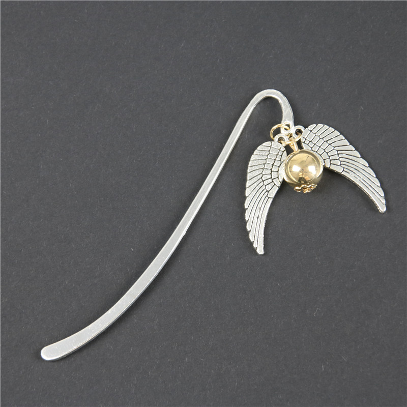 1 Pcs Gold Best Gift For Reader Snitch Harry Bookmark Charm Bookmark Bookmark Gift