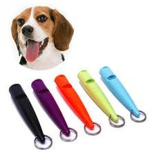 Отпугиватель собак 80 мм для дрессировки домашних собак Регулируемый свисток против кора ультразвуковой звук для дрессировки собак флейта товары для питомцев#0920