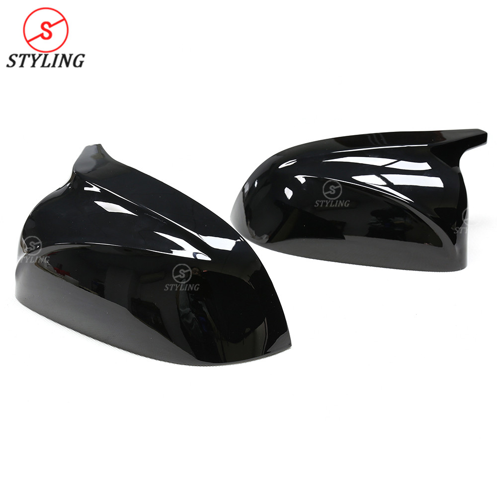 X5 G05 M вид тип зеркала крышка для BMW X3 G01 X4 G02 глянцевый черный и белый боковые заднего вида зеркальные колпачки замена крышки 2018 2019 - 4
