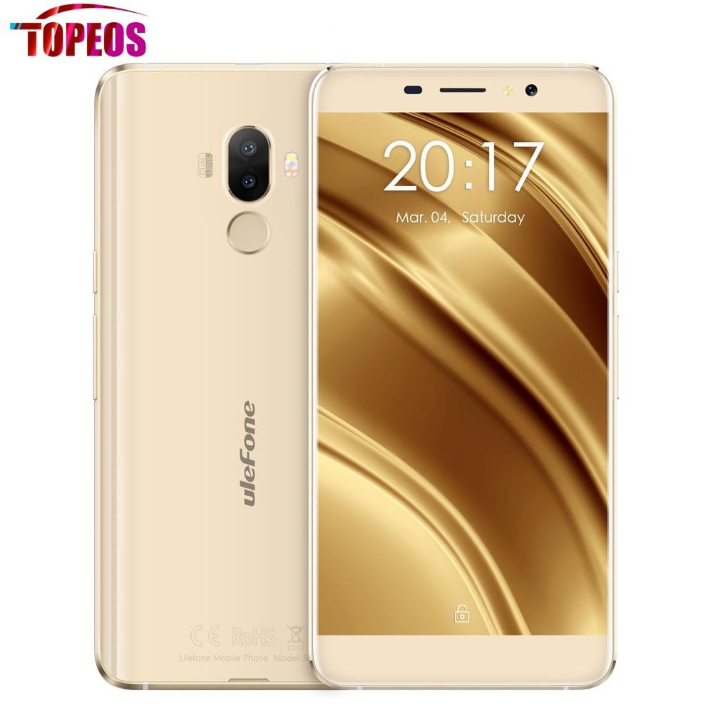 Original 5.3 Inch Ulefone S8 Dual Rear Cameras 13MP+5MP Phone Android 7.0 MT6580 Quad Core 1GB RAM 8GB ROM 3000mAh Fingerprint