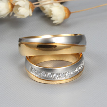 new CZ couple rings for love wedding men women ring alliances of marriage love ring