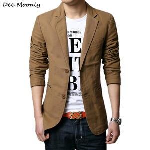 Men Blazer Jacket Spring Designer Casual Fashion Suit Slim Autumn New for Brand Outerwear