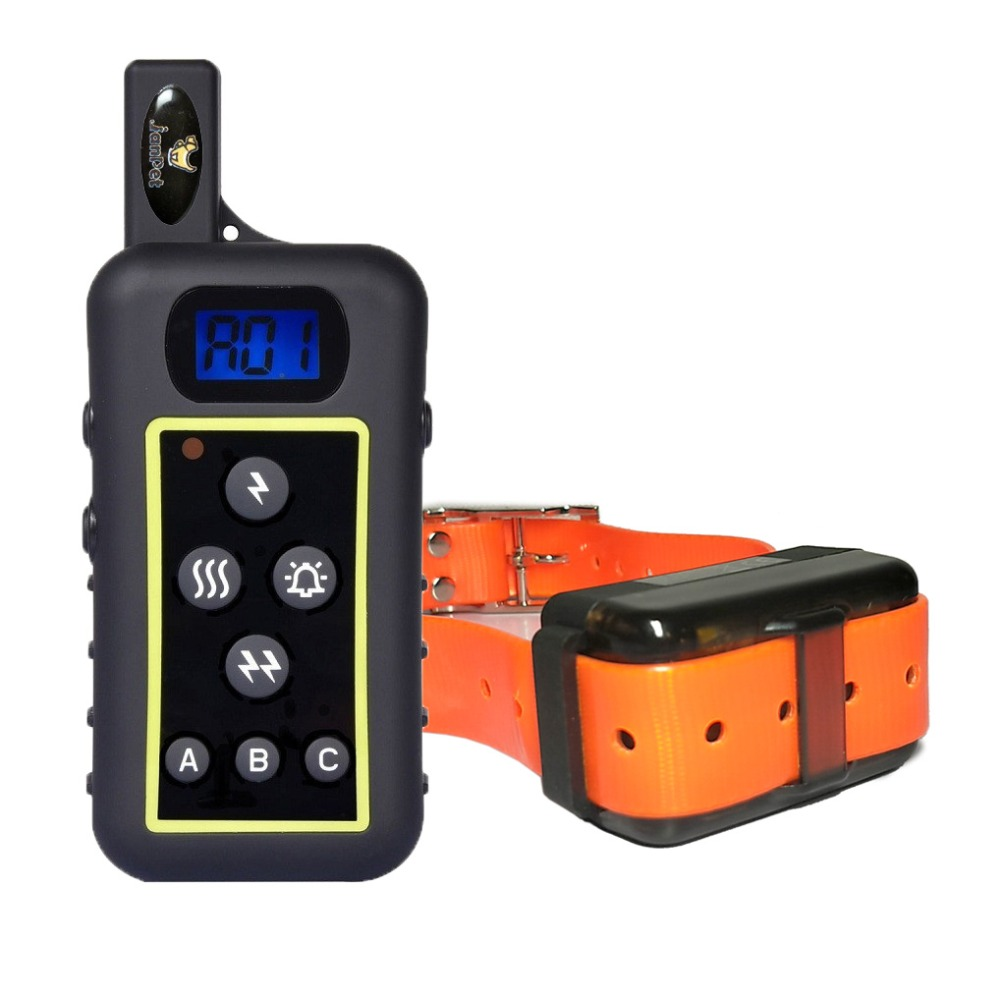JANPET Dog Shock Electric Collar Waterproof Rechargeable Hound Dog Remote Training Collars with Remote Range 2000