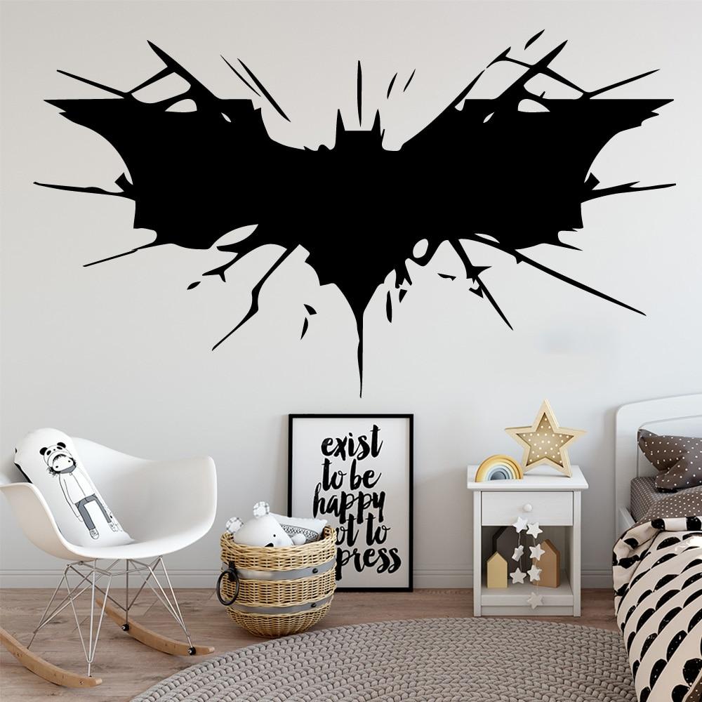 Batman Wall Mural Wall Art Quality Pasteable Wallpaper Decal