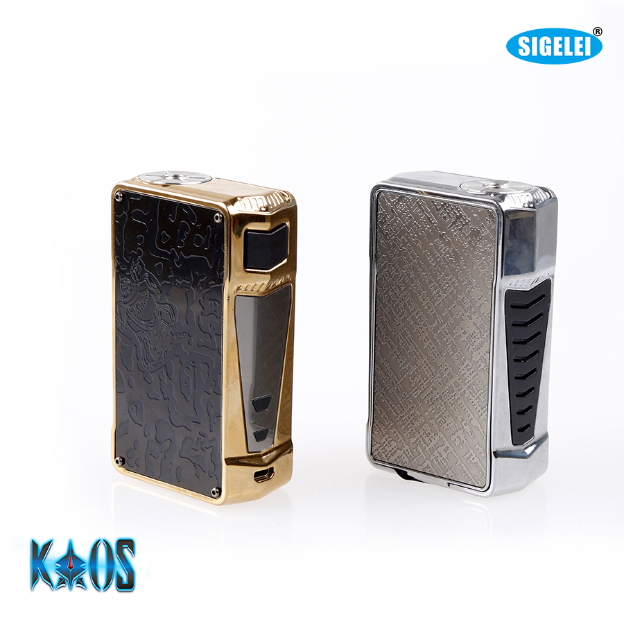 Zo heet !!! Originele Sigelei Kaos Z Vape Box Mod, 200W TC Box voor - Elektronische sigaretten
